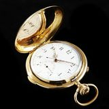 Vintage pocket Clock Royalty Free Stock Photos