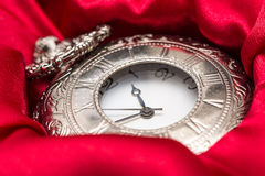 Vintage Pocket Mechanical Watch Stock Photo