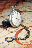 Vintage pocket-watch Stock Images