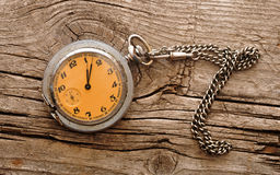 Vintage pocket watch Stock Images
