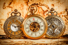 Free Vintage Pocket Watch Royalty Free Stock Photo - 35091805