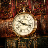 Vintage pocket watch Royalty Free Stock Photography