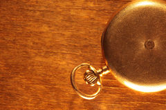 Vintage pocket watch closeup Stock Images
