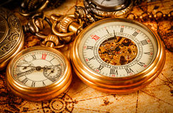 Vintage pocket watch Stock Photo
