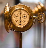Vintage pocket watch. Old pocket watch, mathematics and physics salon, Dresden, Germany Stock Photography