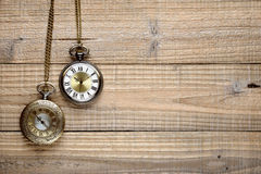 Vintage pocket watches Royalty Free Stock Photos