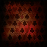Vintage Poker background Stock Photo
