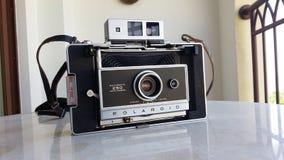 Vintage Polaroid Stock Photo