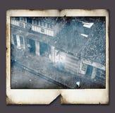 Vintage Polaroid frame stock illustration