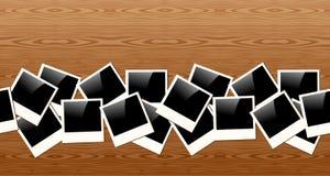 Old Polaroid photo pattern Royalty Free Stock Photography