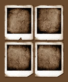 Vintage Polaroid frames Royalty Free Stock Images