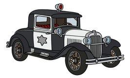 Vintage police car Royalty Free Stock Photo