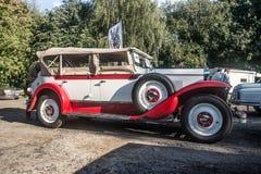 Vintage Polish car Royalty Free Stock Images