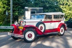 Vintage Polish car Stock Photo