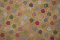 Vintage Polka Dot Background Royalty Free Stock Photography