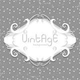 Vintage polka dot background Royalty Free Stock Images