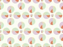 Vintage polka dot - seamless pattern Stock Photo