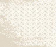 Vintage polka dot texture Stock Photography