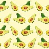 Vintage polygon avocado green pattern Royalty Free Stock Photos