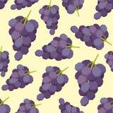 Vintage polygon grape pattern Royalty Free Stock Image