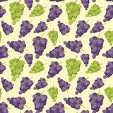 Vintage polygon grape pattern Stock Photography