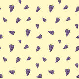 Vintage polygon grape pattern Royalty Free Stock Photography