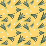 Vintage polygon leek yellow pattern Royalty Free Stock Photography