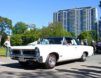 Vintage Pontiac GTO Stock Photo