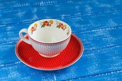 Vintage porcelain tea Cup Royalty Free Stock Image
