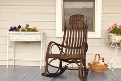 Vintage Porch Setting Royalty Free Stock Photography