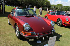 Vintage 911 Porche à la station de vacances de Boca Raton Photo stock