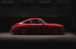 Vintage Porsche 911 Car Stock Photos