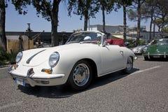 Vintage Porsche durante Imágenes de archivo libres de regalías