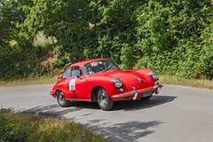 Vintage Porsche 356 SC (1963) Foto de Stock