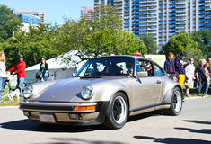 Vintage Porsche Sports car. Stock Photo