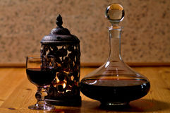 A Vintage Port for a Vintage Year. Happy New Year, A Vintage Port for a Vintage Year stock photos