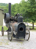 Vintage Portable Frick Steam Engine Stock Photography