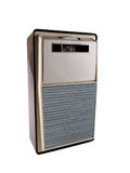 Vintage portable transistor radio Royalty Free Stock Images