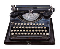 Vintage portable typewriter Royalty Free Stock Image