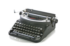 Vintage portable typewriter Stock Image