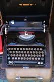 Vintage Portable Typewriter Stock Images