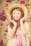Vintage portarait Royalty Free Stock Photo