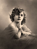 Vintage portrait. Stock Images