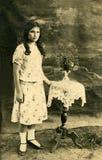Vintage portrait. Stock Images