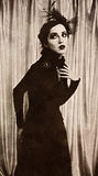 Vintage portrait royalty free stock photography
