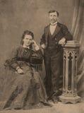 Vintage portrait. Stock Photography