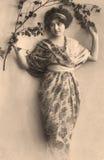 Vintage portrait royalty free stock photos