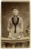 Vintage portrait. Stock Photos