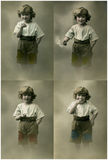 Vintage portrait. This is a Black and White image Royalty Free Stock Photos