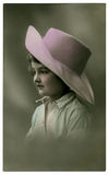 Vintage portrait. royalty free stock photos